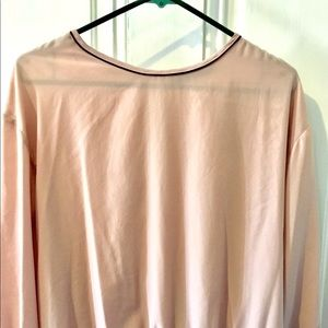 Rose colored Zara women's top